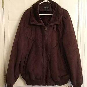Sean John Men's Faux Fur Back Jacket Size XXL
